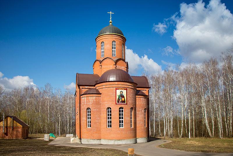 В монастыре святого Кукши освящен храм Воскресения Христова