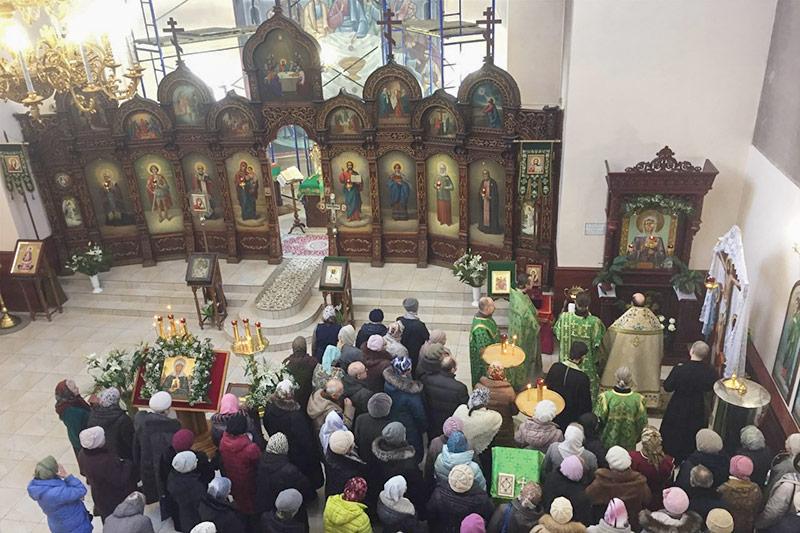 К престольному празднику в храме Матроны Московской появилась новая икона почитаемой святой