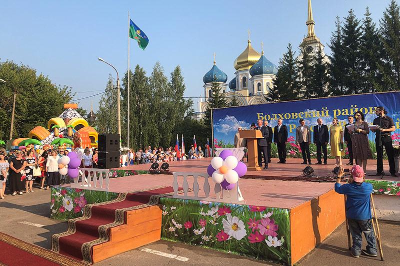 Митрополит Тихон принял участие в торжествах в честь Дня Болховского района