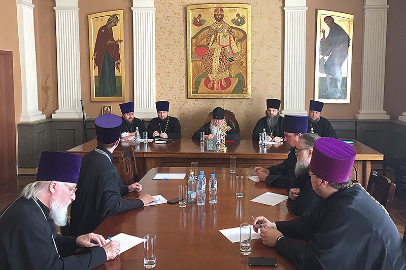 Состоялись заседания Архиерейского совета Орловской митрополии и епархиального совета Орловской епархии