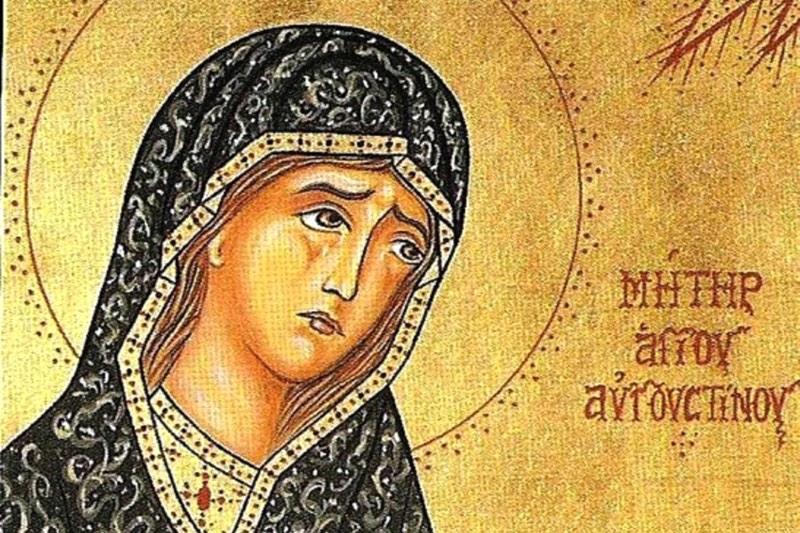 Святая Моника вымолила сына и мужа. Молебны ей еженедельно будут совершаться в Богоявленском соборе