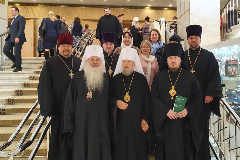 Делегация Орловской митрополии участвовала в открытии XXVIII Международных Рождественских образовательных чтений в Москве