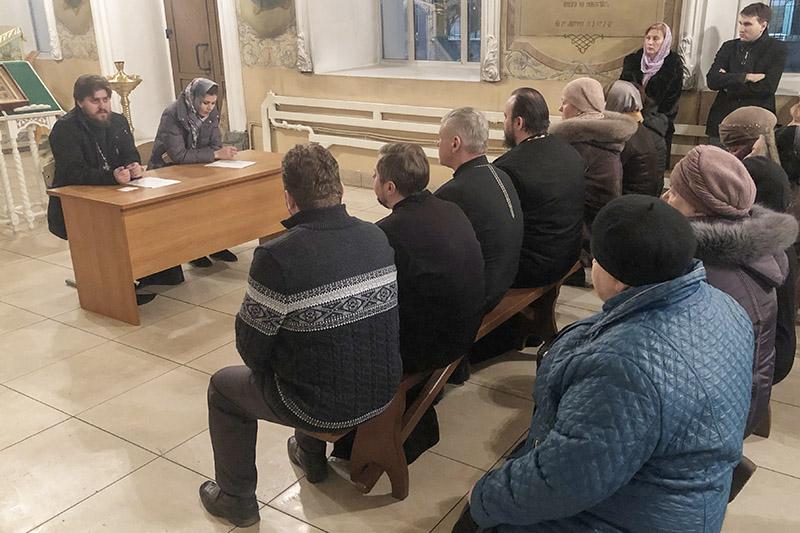 В Богоявленском соборе состоялось приходское собрание