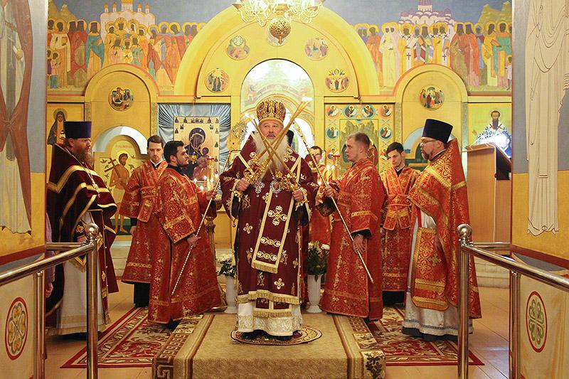 Варварин день: Троице-Васильевский храм города Орла отметил престольный праздник