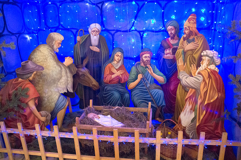 Митрополит Тихон совершил Литургию в Рождественский сочельник