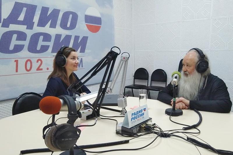 Владыка Тихон ответил на вопросы слушателей «Радио России. Орёл»