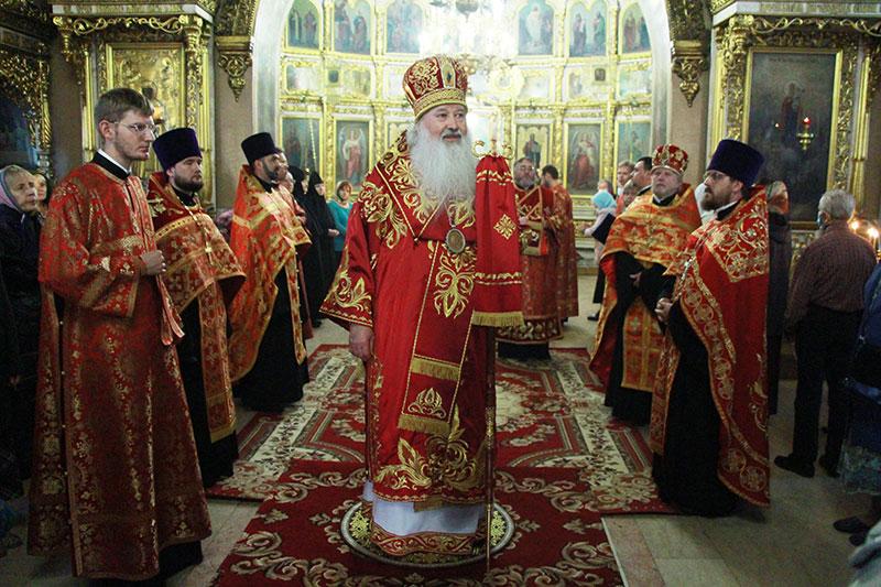 Святая Церковь отмечает праздник Усекновения главы Крестителя Господня Иоанна