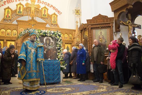 В день престольного праздника митрополит Антоний возглавил торжества в храме Иве